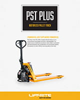 lift rite motorized pallet jack brochure