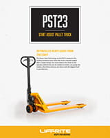 lift rite start assist pallet truck brochure