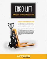 lift rite ergonomic lifter, ergo lift, skid lifter, skid lift