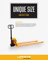Lift-Rite unique size titan series manual pallet jack