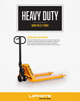 Lift-Rite heavy duty pallet truck brochure