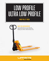 lift rite low profile pallet jack