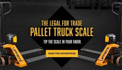 Lift-Rite pallet truck with scale, pallet jack scale