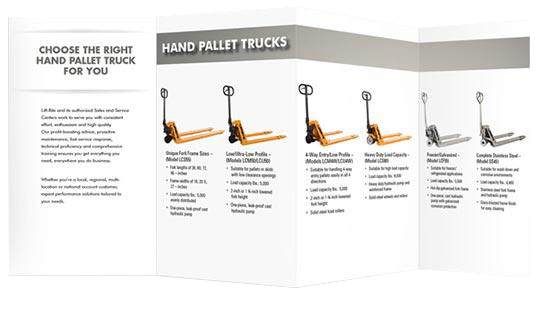 hand pallet jack selection