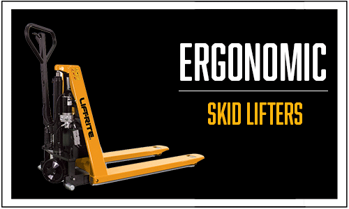 Lift-Rite Ergonomic skid lift, skid lifter