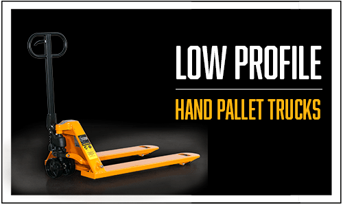 Lift-Rite pallet jack, low profile pallet jack, 4 way pallet jack