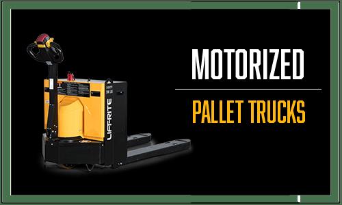 motorized pallet trucks