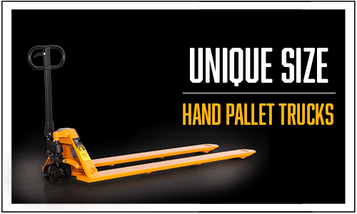 Lift Rite unique size pallet jacks