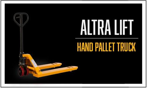 Altra Lift, Hand Pallet Trucks
