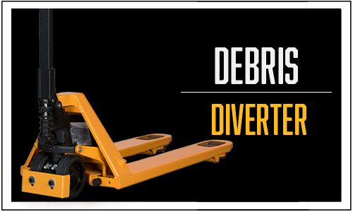 Debris Diverter, Hand Pallet Trucks