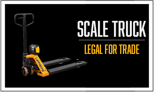Scale Truck Legal for Trade, Hand Pallet Truck