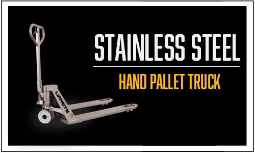 Stainless Steel Pallet Truck, Hand Pallet Truck