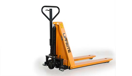 manual ergonomic skid lifter, lift-rite ergo-lift