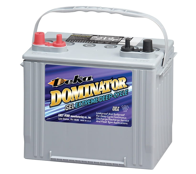 Deka Deep Cycle Battery