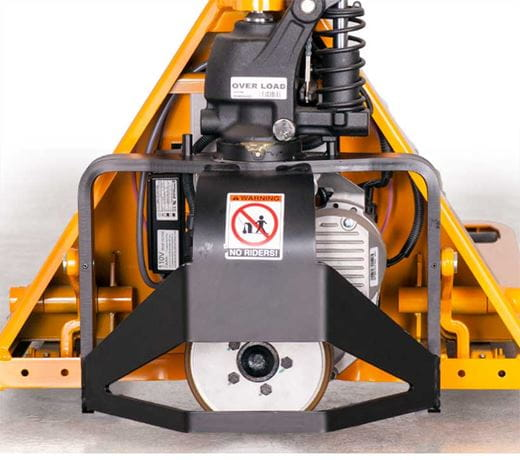 Motorized Pallet Jack, Lift-Rite PST Plus Pallet Jack, Power Start Plus pallet truck