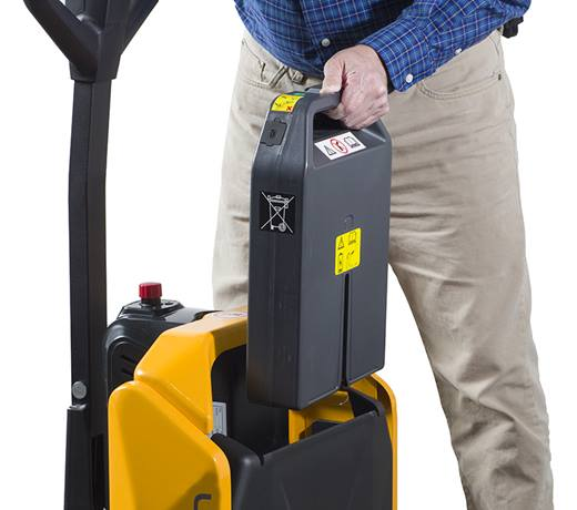 Lift Rite Yellow Edge, lithium-ion battery, replaceable, ease of use