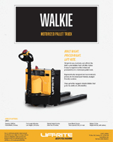 lift rite walkie pallet jack brochure
