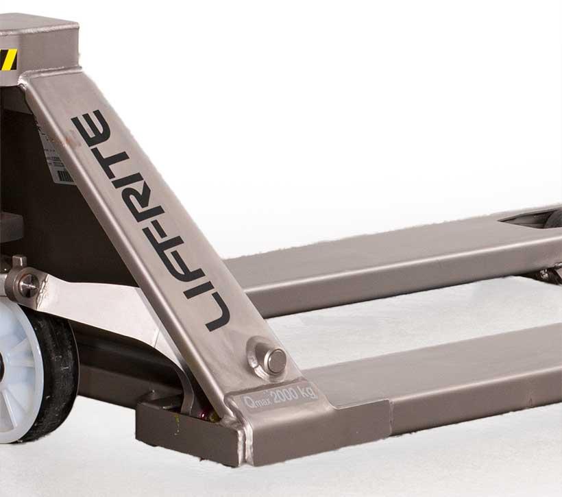 Lift-Rite Stainless Steel Hand Pallet Truck