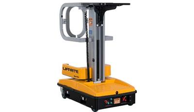 warehouse lifts, lift rite, personnel lifter, spingo