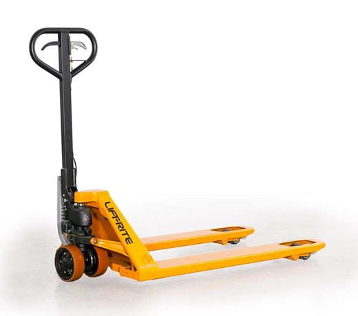 Lift-Rite pallet jack, hand truck, start assist pallet jack