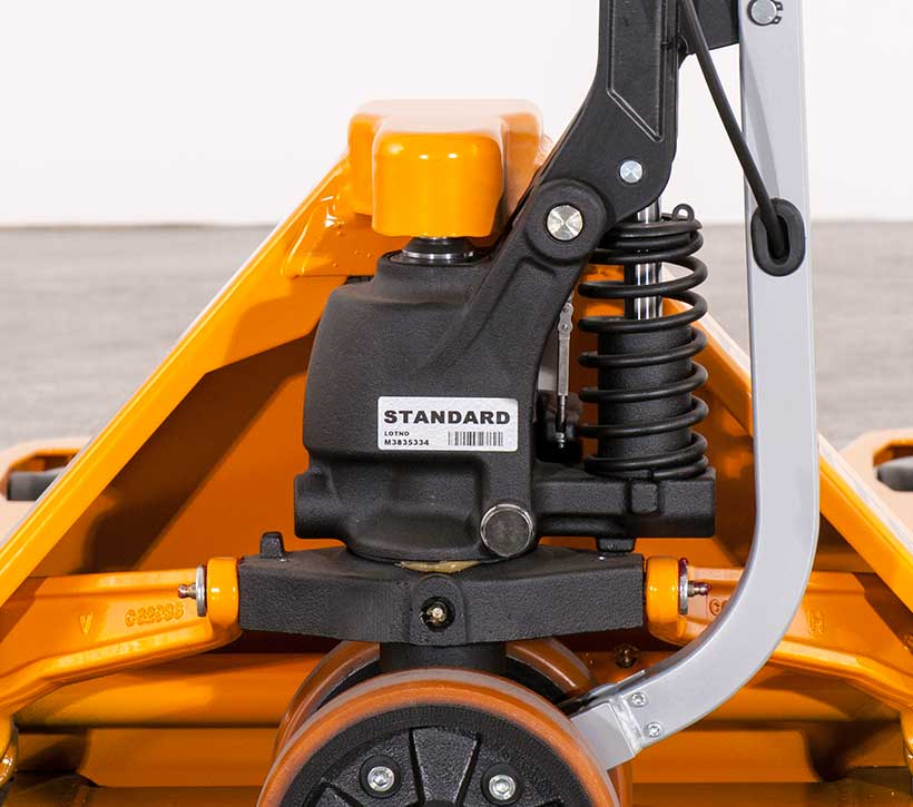 start assist pallet truck, powered pallet jack