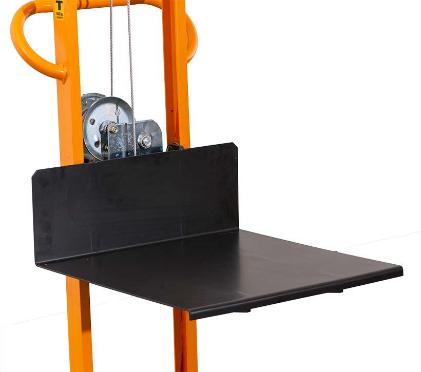 Winch Lift platform