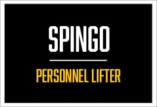 spingo, personnel lifter